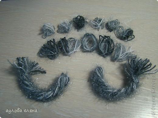 Мастер-класс Новый год Шитьё Змейка делаем мордочку Капрон Проволока фото 40
