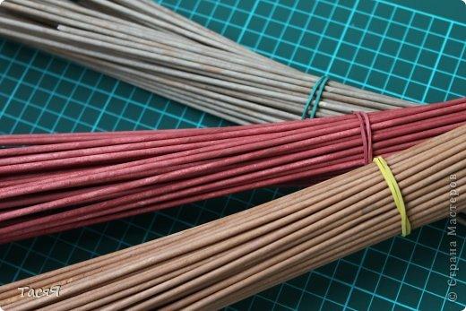 Поделка изделие Плетение Пробуем прямоугольное плетеное дно 3-месячной годовщине плетения посвящается Бумага фото 2