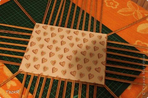 Поделка изделие Плетение Пробуем прямоугольное плетеное дно 3-месячной годовщине плетения посвящается Бумага фото 32