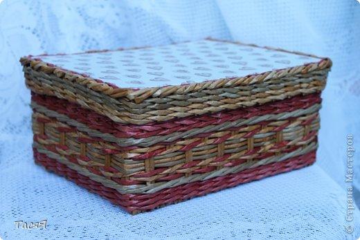Поделка изделие Плетение Пробуем прямоугольное плетеное дно 3-месячной годовщине плетения посвящается Бумага фото 34
