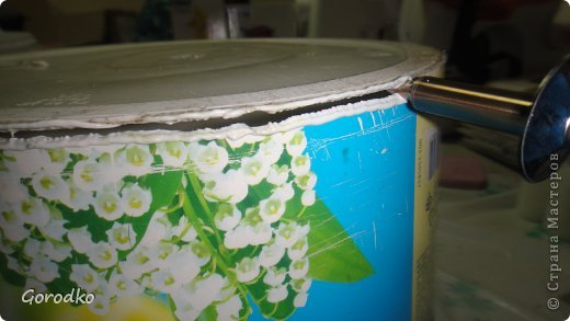 Поделка изделие Плетение Создание кофейного столика МК Бумага газетная фото 3