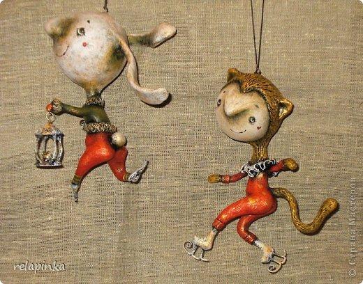 Куклы Новый год Папье-маше Неведома зверушка м-к Бумага фото 43