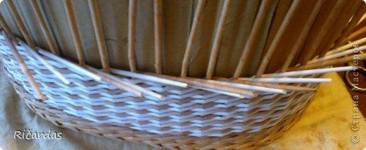Послойное плетение (как я заканчиваю плетение) 2013-01-15-0200