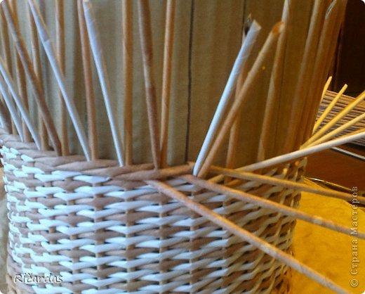 Послойное плетение (как я заканчиваю плетение) 2013-01-15-0202