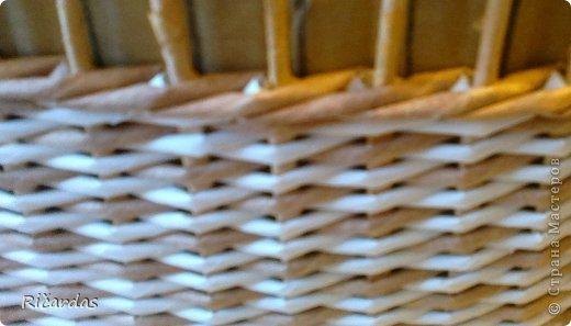 Послойное плетение (как я заканчиваю плетение) 2013-01-15-0205