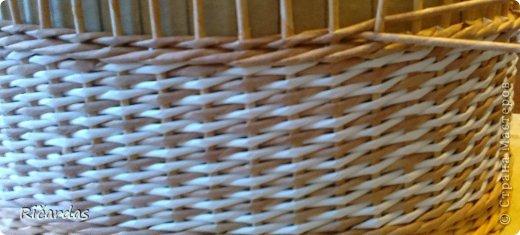 Послойное плетение (как я заканчиваю плетение) 2013-01-15-0207