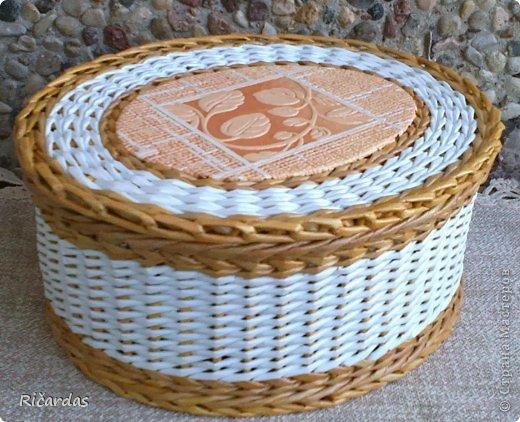 Послойное плетение (как я заканчиваю плетение) 2013-01-16-0243