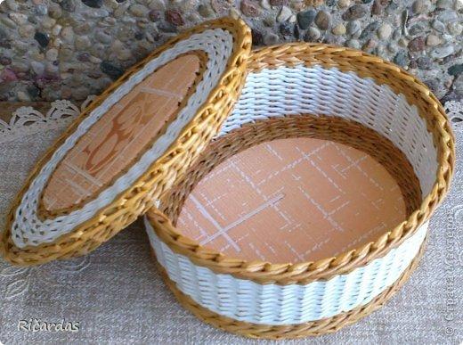 Послойное плетение (как я заканчиваю плетение) 2013-01-16-0245