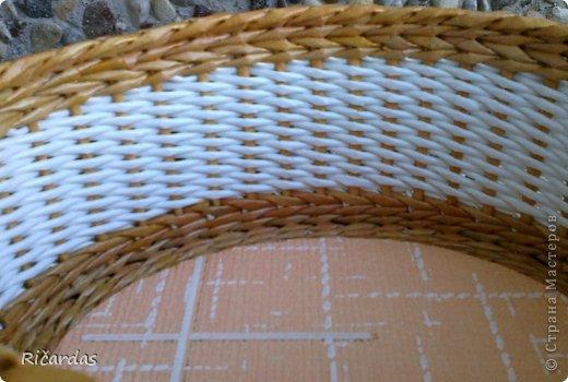 Послойное плетение (как я заканчиваю плетение) 2013-01-16-0247