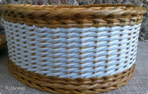 Послойное плетение (как я заканчиваю плетение) 2013-01-16-0249