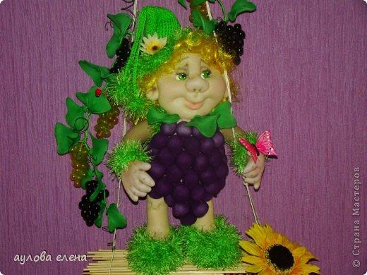 Куклы Шитьё Виноградик  Капрон фото 1