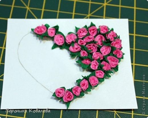 Открытка Валентинов день Вырезание Киригами pop-up Валентинка + 2 мастер-класса в одном посте = Бумага фото 28