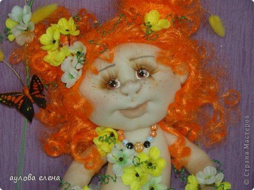 Куклы Шитьё Рыжуля Проволока Ткань фото 3