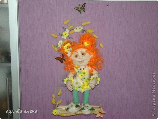 Куклы Шитьё Рыжуля Проволока Ткань фото 4