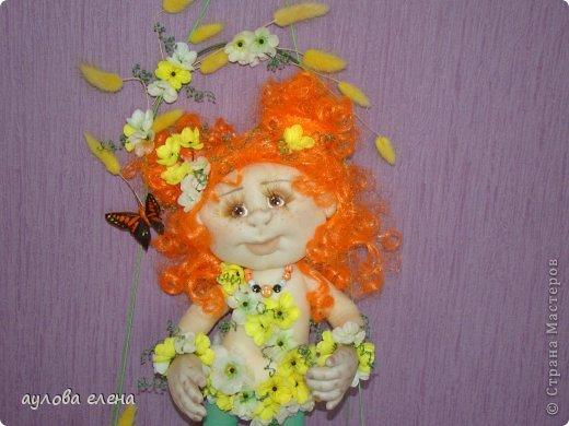 Куклы Шитьё Рыжуля Проволока Ткань фото 5