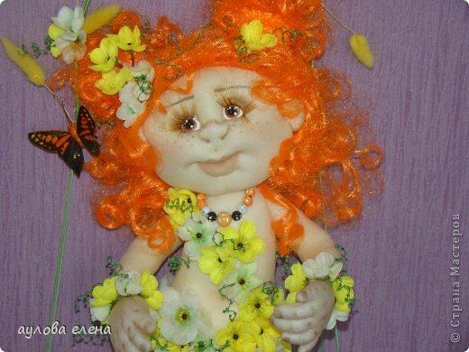 Куклы Шитьё Рыжуля Проволока Ткань фото 1