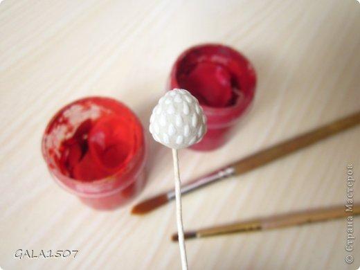 Мастер-класс Лепка Одну ягодку беру а вторую примечаю    Краска Тесто соленое фото 15