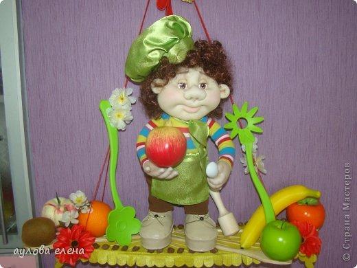 Куклы Шитьё Поварёнок Проволока Ткань фото 1