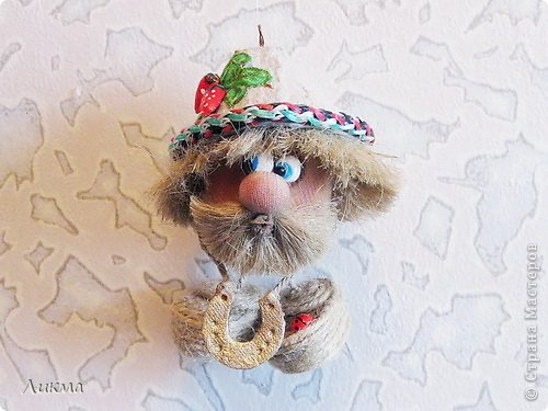 Куклы Шитьё Домовенок из киндер-сюрприза Материал бросовый фото 1