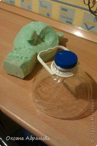 Мастер-класс Поделка изделие Моделирование МК ФИЛИН из пластиковых бутылок Бутылки пластиковые Материал бросовый Пенопласт Проволока фото 16