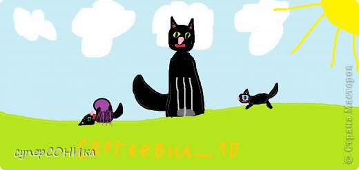 Кошки в мире творчества:) Sergeevna