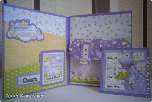 Открытка Скрапбукинг День рождения Аппликация С Днем Рождения моя Принцесса Бумага фото 7