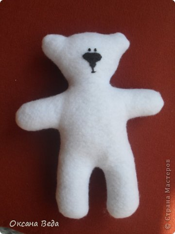 Игрушка Шитьё Медвежонок Умка Ткань фото 9