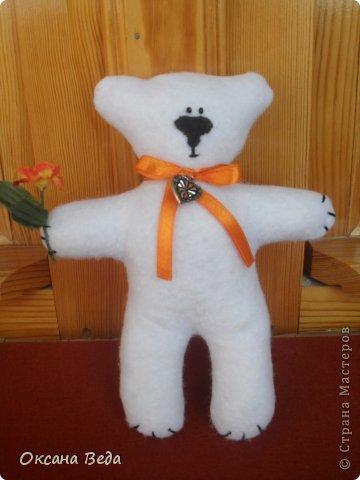 Игрушка Шитьё Медвежонок Умка Ткань фото 1