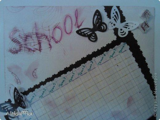 Скрапбукинг Начало учебного года снова в школу Бумага фото 2