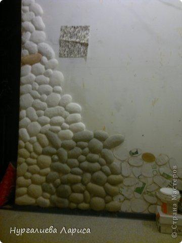 Интерьер Мастер-класс Папье-маше Декор стены камнями Бумага Картон Клей фото 15