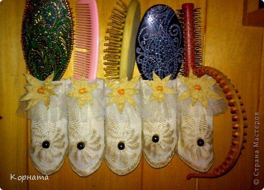 Поделка изделие Вязание крючком Плетение Рукоделочки для дачи  фото 1