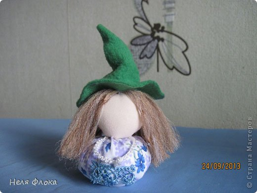 Куклы Мастер-класс Шитьё Озорная ведьмочка  Ткань фото 22