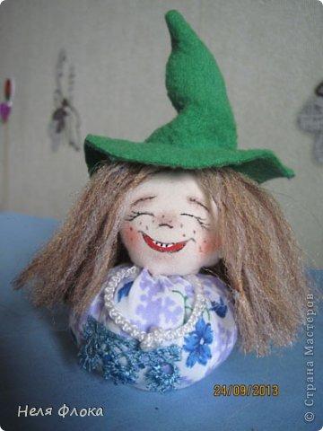 Куклы Мастер-класс Шитьё Озорная ведьмочка  Ткань фото 24