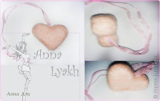 Авторские игрушки украшения и мн. др. Hand made Valyanoe-serdce1
