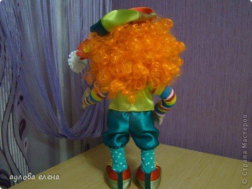 Куклы Шитьё Клоун Капрон Ленты Проволока Ткань фото 5
