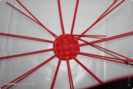 Мастер-класс Поделка изделие Плетение МК клубники Трубочки бумажные фото 2