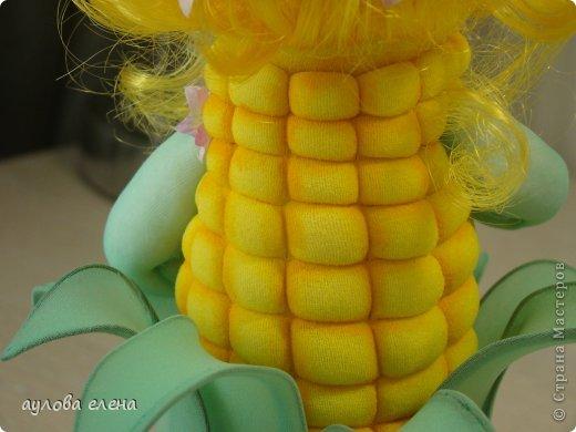 Игрушка Шитьё Кукурузка Капрон Клей Проволока фото 6