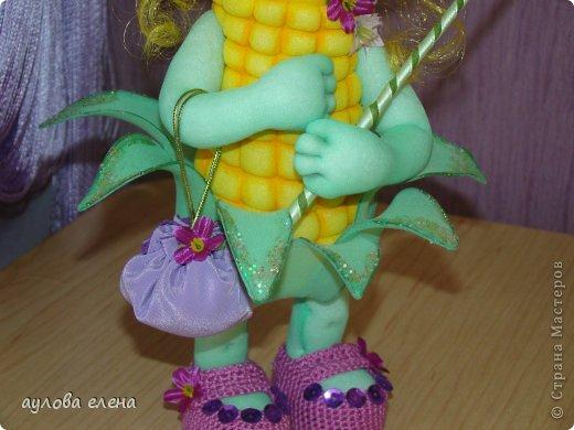 Игрушка Шитьё Кукурузка Капрон Клей Проволока фото 4