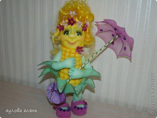 Игрушка Шитьё Кукурузка Капрон Клей Проволока фото 1