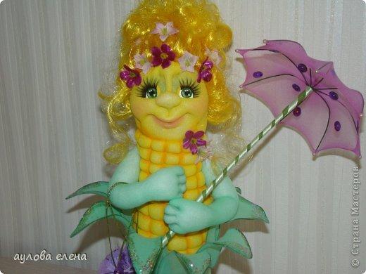 Игрушка Шитьё Кукурузка Капрон Клей Проволока фото 2