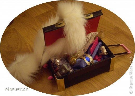 Кукольная жизнь Мастер-класс Картонаж МК Чемодан для кукол Картон фото 1