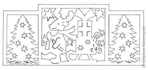 Поделка изделие Новый год Вырезание Зимние развлечения Бумага фото 2