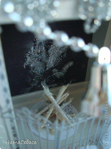 Макет модель Поделка изделие Скрапбукинг Новый год Аппликация Ассамбляж Моделирование конструирование Камины из бумаги Бумага фото 7