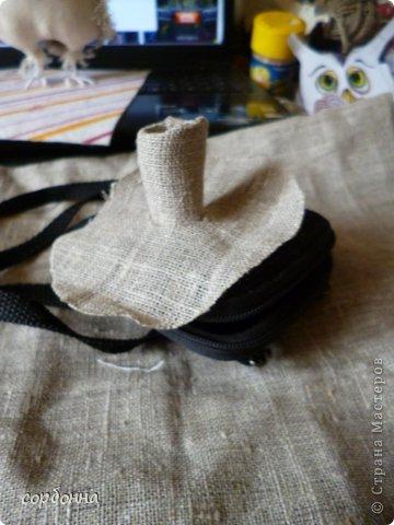 Игрушка Мастер-класс Новый год Шитьё Ароматизированная кукла Сова Ткань фото 5