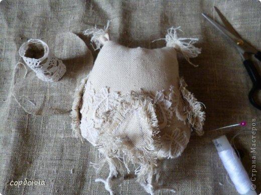 Игрушка Мастер-класс Новый год Шитьё Ароматизированная кукла Сова Ткань фото 8