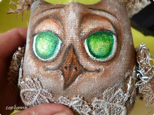 Игрушка Мастер-класс Новый год Шитьё Ароматизированная кукла Сова Ткань фото 15