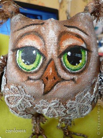 Игрушка Мастер-класс Новый год Шитьё Ароматизированная кукла Сова Ткань фото 17