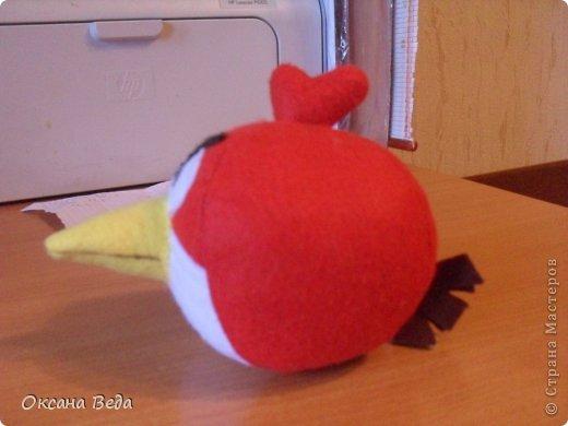 Игрушка Шитьё Злые птички Фетр фото 3