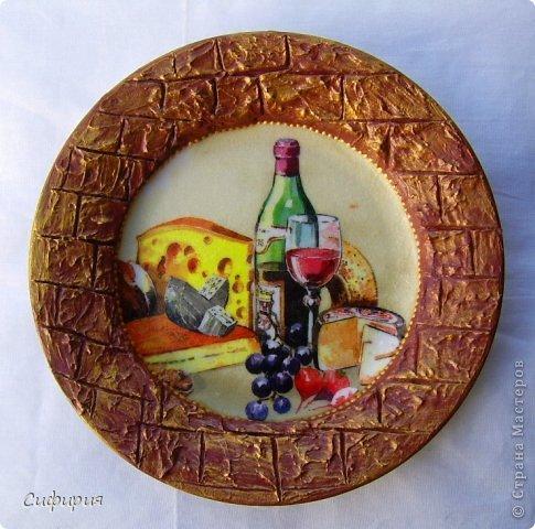 Декор предметов Декупаж Декупажные тарелочки Салфетки фото 14