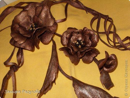 Украшение Моделирование конструирование Кожа-брэнд сезона МК на женский пояс из кожи Кожа фото 1